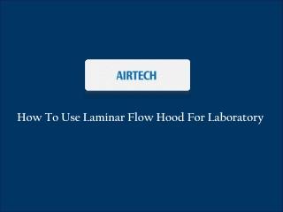 Laminar Air Flow Services in Singapore