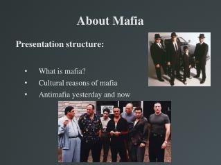 a description of the mafia first developed in sicily in feudal times The mafia originated in feudal times to the island of sicily which had existed since feudal times in the first half of the 19th century the.