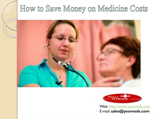 How to Save your Medicine Cost?