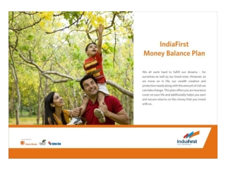 Money balance plan flipchart – best ulip plans