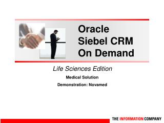 Oracle  Siebel CRM On Demand
