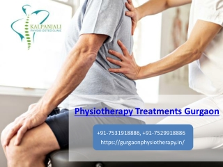 Pick The Best Physiotherapy Treatments Gurgaon