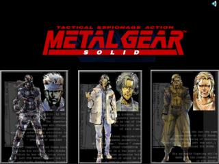 Metal Gear Metal Gear 2 Metal Gear Solid Metal Gear: VR Missions Metal Gear Solid/Ghost Babel Metal Gear Solid 2: Sons o