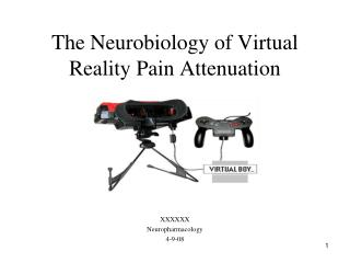 The Neurobiology of Virtual Reality Pain Attenuation