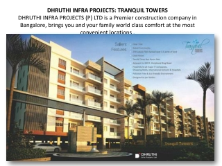 Dhruthi Properties Bangalore