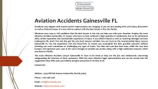 Auto Accidents Gainesville FL