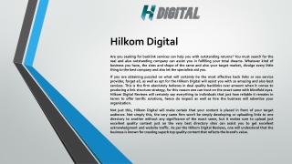Hilkom Digital