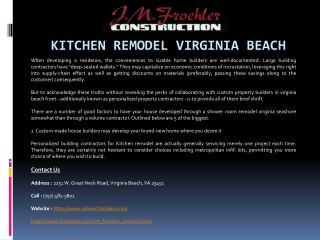 Bathroom Remodel Virginia Beach