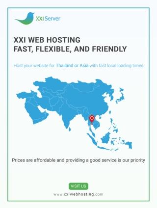 XXI Web Hosting Thailand