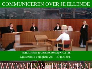 COMMUNICEREN OVER JE ELLENDE