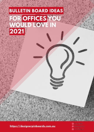 Bulletin Board Ideas for Offices You Would Love in 2021