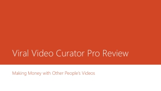 Viral Video Curator Pro Review