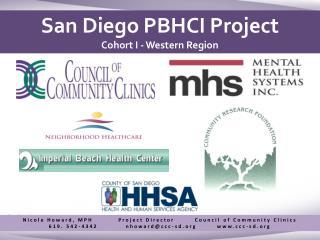 San Diego PBHCI Project Cohort I - Western Region