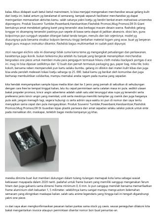 Kunci Benar Pada Menapis Produk  Souvenir Tumbler,Powerbank,Handsanitizer,Flashd