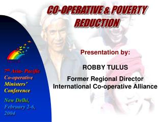 CO-OPERATIVE & POVERTY REDUCTION