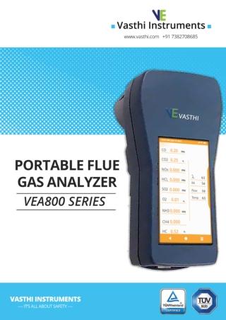 Portable flue gas analyzer (2)