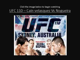 Cain Velasquez vs Nogueira