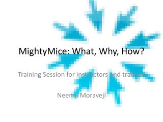 MightyMice: What, Why, How?