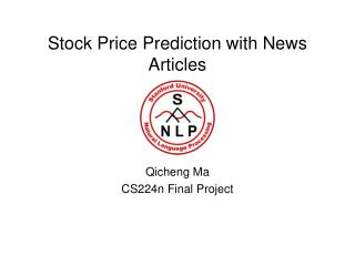 Stock Price Prediction with News Articles