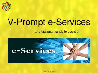 V-Prompt e-Services: Best IT Company