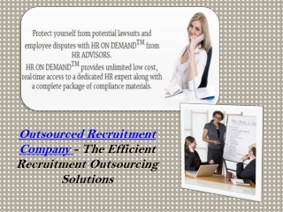 Outsourced Recruitment Company