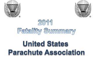 2011 Fatality Summary