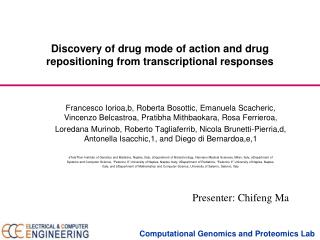 Discovery of drug mode of action and drug repositioning from transcriptional responses