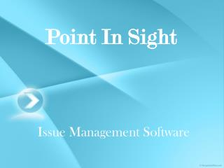 Issue Management System Software