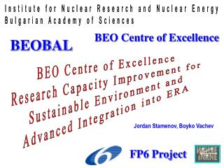 BEO Centre of Excellence