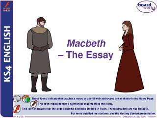 Macbeth – The Essay