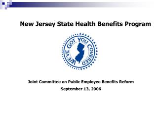 New Jersey State Health Benefits Program