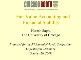 Fair Value Accounting and Financial Stability