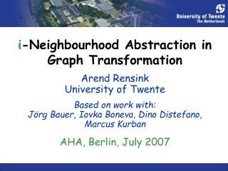 i -Neighbourhood Abstraction in  Graph Transformation