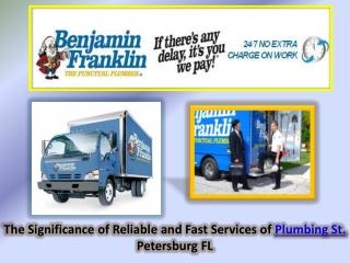 Plumbing St. Petersburg FL