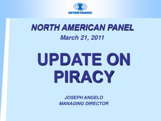 NORTH AMERICAN PANEL  March 21, 2011