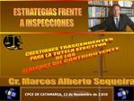ESTRATEGIAS FRENTE A INSPECCIONES