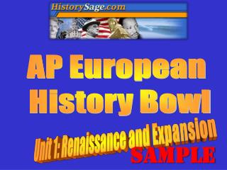 AP European  History Bowl