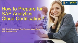 SAP Analytics Cloud (C_SAC_2107) Certification : Latest Questions and Exam Tips