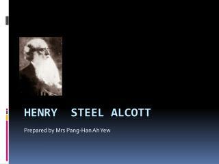 Henry Steel Alcott