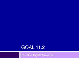 Goal 11.2