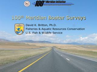 100 th  Meridian Boater Surveys