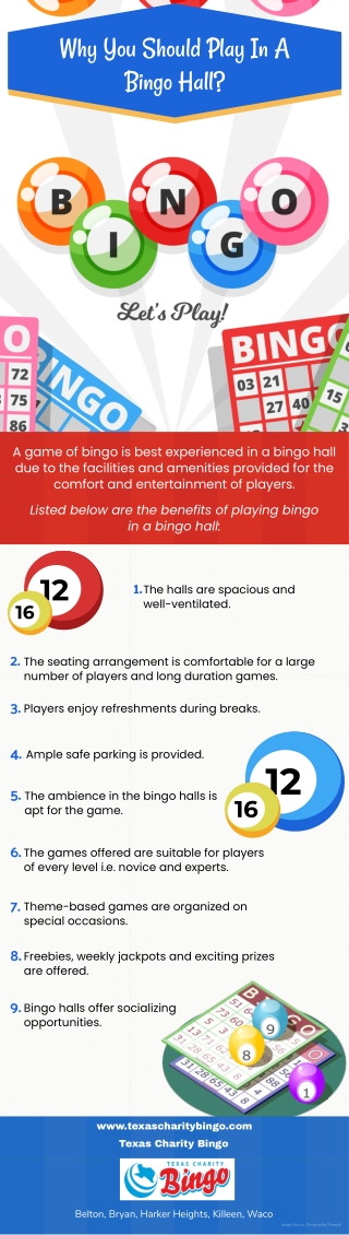 Why You Should Play In A Bingo Hall?