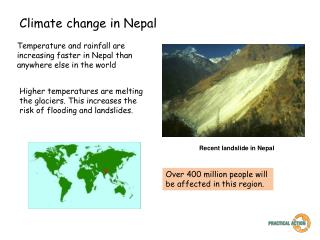 Climate change in Nepal