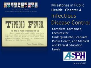 Infectious Disease Control
