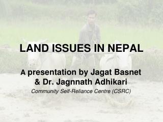 LAND ISSUES IN NEPAL