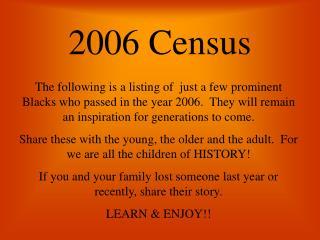 2006 Census
