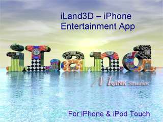 iLand3D - iPhone Entertainment App