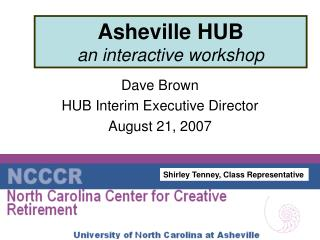 Asheville HUB an interactive workshop
