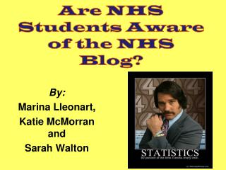 Are NHS Students Aware of the NHS Blog?