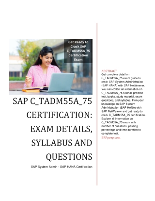 SAP SAC C_SAC_2107 Certification Syllabus and Certification Questions